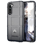 Anti-Shock Grid Texture Tough Case for OnePlus Nord - Black