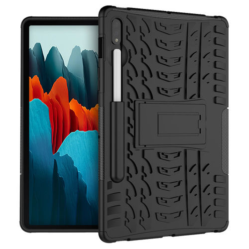 Dual Layer Rugged Tough Shockproof Case for Samsung Galaxy Tab S7