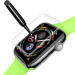 (2-Pack) UV Liquid Curved Tempered Glass Screen Protector for Apple Watch 42mm Series
