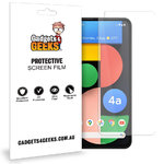 (2-Pack) Clear Film Screen Protector for Google Pixel 4a 5G