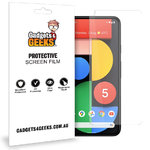 (2-Pack) Clear Film Screen Protector for Google Pixel 5
