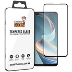 Full Coverage Tempered Glass Screen Protector for Oppo Reno4 Z 5G - Black