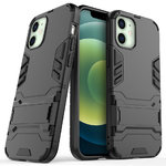 Slim Armour Tough Shockproof Case for Apple iPhone 12 Mini - Black