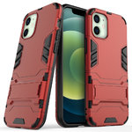 Slim Armour Tough Shockproof Case for Apple iPhone 12 Mini - Red