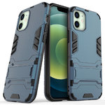 Slim Armour Tough Shockproof Case for Apple iPhone 12 Mini - Blue
