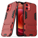 Slim Armour Tough Shockproof Case for Apple iPhone 12 / 12 Pro - Red