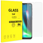 Imak Full Coverage Tempered Glass Screen Protector for Motorola Moto G9 Play - Clear