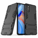 Slim Armour Tough Shockproof Case for Oppo Reno4 5G - Black