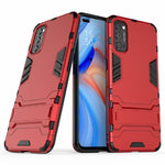 Slim Armour Tough Shockproof Case for Oppo Reno4 5G - Red