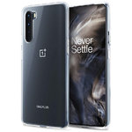 Flexi Slim Gel Case for OnePlus Nord - Clear (Gloss Grip)