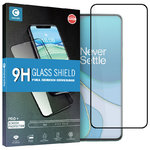 Mocolo Full Coverage Tempered Glass Screen Protector for OnePlus 8T - Black