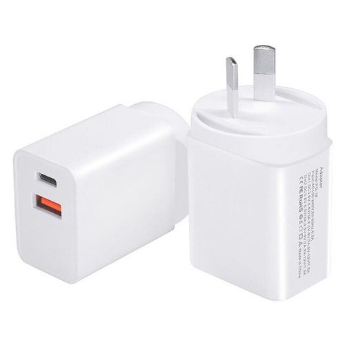 (18W) Dual USB / Type-C PD / QC3.0 / Fast Wall Charger / Power Adapter for Phone / Tablet