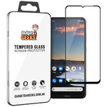 Full Coverage Tempered Glass Screen Protector for Nokia 5.3 - Black