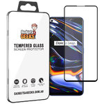 Full Coverage Tempered Glass Screen Protector for realme 7 Pro - Black