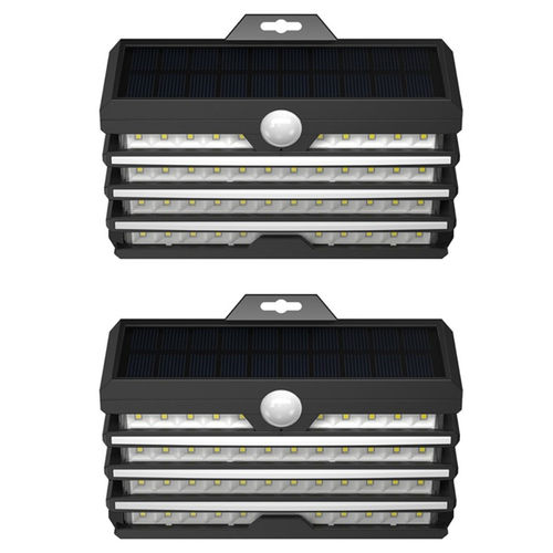 Baseus Energy Outdoor (2-Pack) LED Outdoor Wall Lamp / Motion Sensor Light / Solar Panel