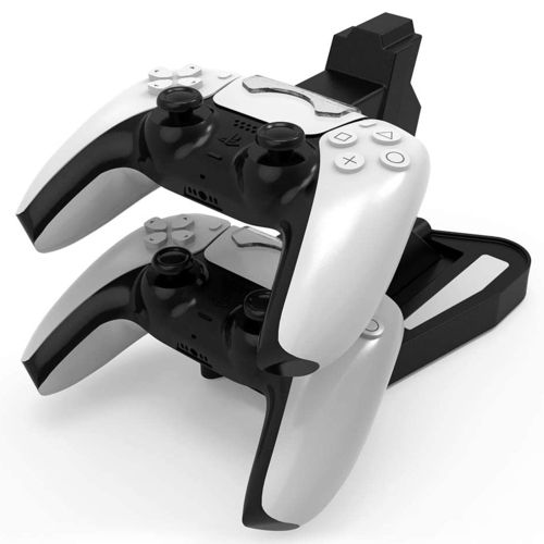 PS5 Dual USB Game Controller Stand / Charging Station Dock for Sony PlayStation 5