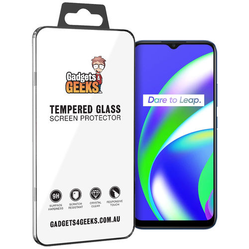 9H Tempered Glass Screen Protector for realme C12