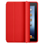 (4-fold) Sleep/Wake Smart Case for Apple iPad 4th / 3rd / 2nd Gen - Red