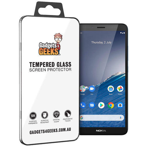 9H Tempered Glass Screen Protector for Nokia C3