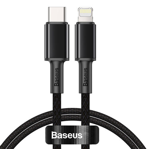 Baseus 20W USB-PD (Type-C) to Lightning Cable (1m) for iPhone / iPad - Black
