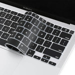 Silicone Keyboard Protective Cover for Apple MacBook Air (13-inch) 2020 / M1 - Black