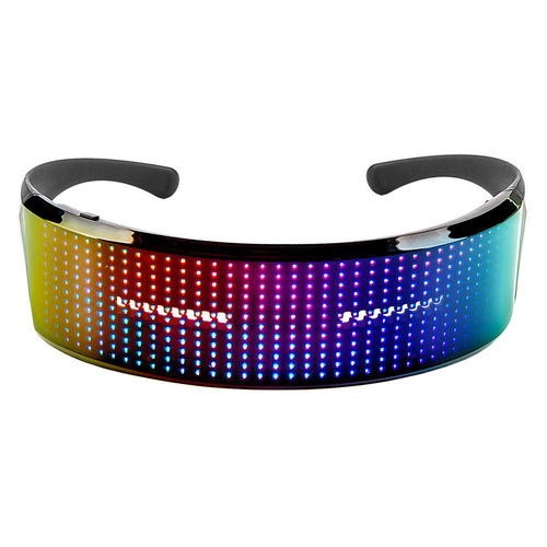 Shining Colour LED Animated Party Glasses / DIY Messages / Bluetooth Effects App