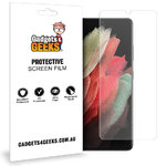 (2-Pack) Full Coverage TPU Film Screen Protector for Samsung Galaxy S21 Ultra