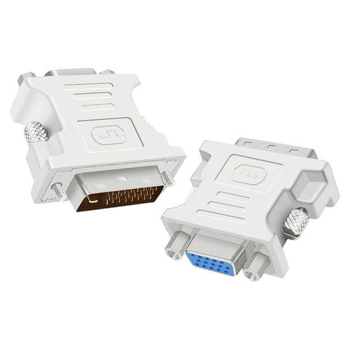 DVI-D (Male) to VGA (Female) Adapter Converter (2-Pack)