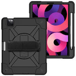 Dual Armour / Hand Strap / Kickstand / Shockproof Case for Apple iPad Air (4th Gen)