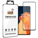 Full Coverage Tempered Glass Screen Protector for OnePlus 9 - Black