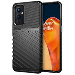 Flexi Thunder Shockproof Case for OnePlus 9 - Black (Texture)