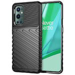 Flexi Thunder Shockproof Case for OnePlus 9 Pro - Black (Texture)