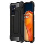 Military Defender Tough Shockproof Case for OnePlus 9 - Black
