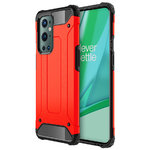 Military Defender Tough Shockproof Case for OnePlus 9 Pro - Red