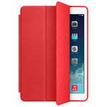 Trifold Sleep/Wake Smart Case for Apple iPad Air (1st Gen) - Red
