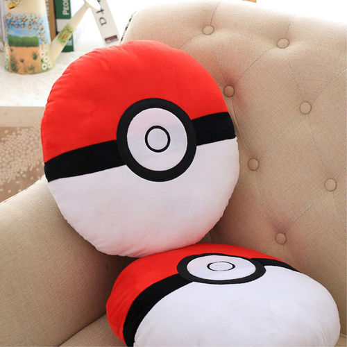 38cm Pokemon Go Poke Ball Plush Toy Stuffed Pillow
