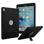 Dual Armour Heavy Duty Shockproof Case for Apple iPad Air 2 / Pro 9.7 - Black