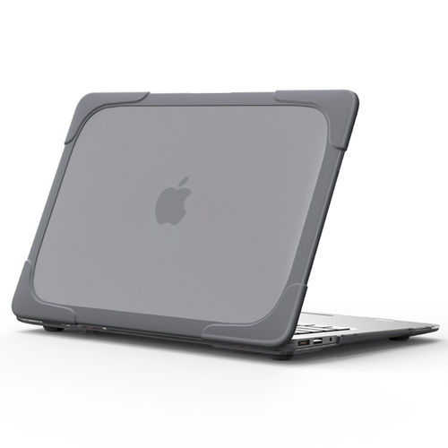 Heavy Duty Tough Shockproof Case for Apple MacBook Air (13-inch) - Grey