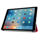 Trifold Sleep/Wake Smart Case for Apple iPad Pro 12.9-inch (1st / 2nd Gen) - Red
