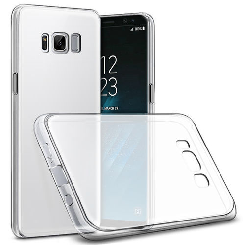Flexi Gel Two-Tone Case for Samsung Galaxy S8 - White Frost