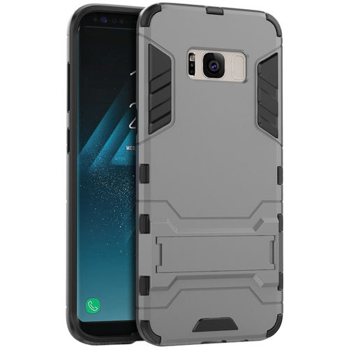 Slim Armour Tough Shockproof Case for Samsung Galaxy S8 - Grey