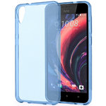Flexi Gel Crystal Case for HTC Desire 825 - Blue (Gloss Grip)