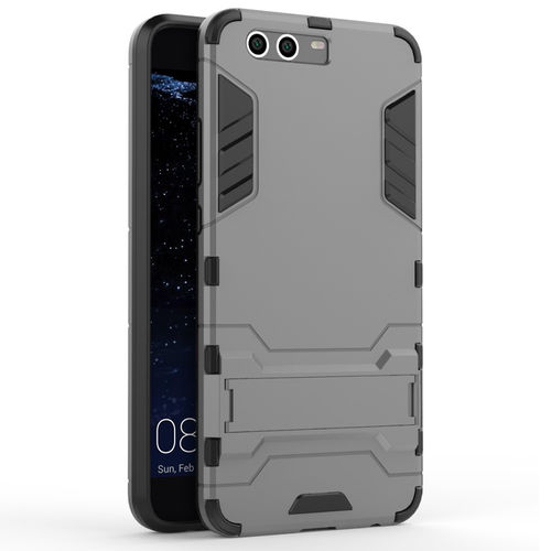 Slim Armour Rugged Tough Shockproof Case for Huawei P10 Plus - Silver