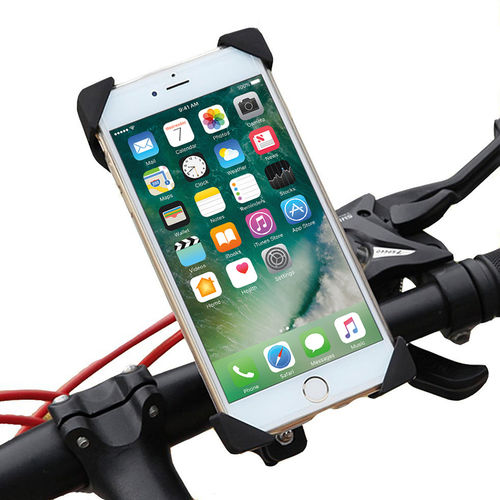 Bicycle & Motorbike Handlebar Mount Bracket & Holder for Mobile Phone