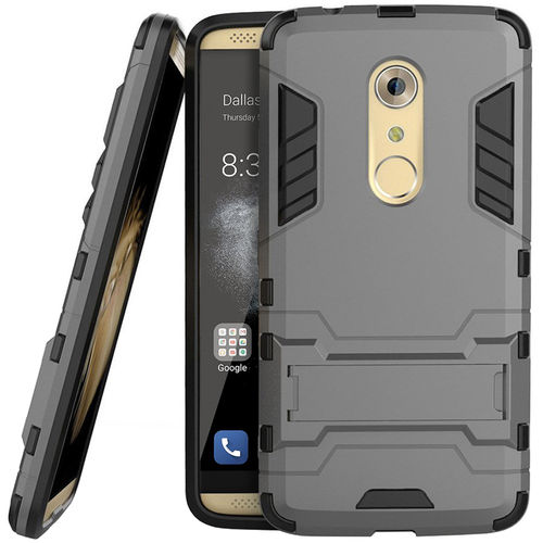 Slim Armour Tough Shockproof Case for ZTE Axon 7 - Grey