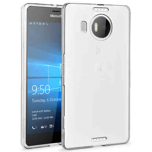 Flexi Slim Gel Case for Microsoft Lumia 950 XL - Clear (Gloss Grip)