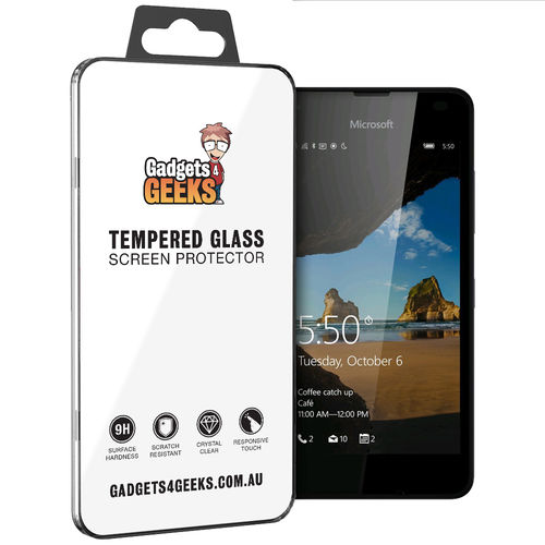 9H Tempered Glass Screen Protector for Microsoft Lumia 550