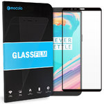Mocolo Full Coverage Tempered Glass Screen Protector for OnePlus 5T - Black