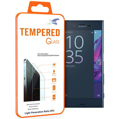 9H Tempered Glass Screen Protector for Sony Xperia XZ