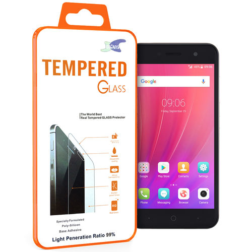 9H Tempered Glass Screen Protector for Telstra 4GX Enhanced / ZTE Blade A520